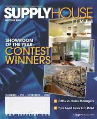 SHOWROOM OF THE YEAR - Supply House Times