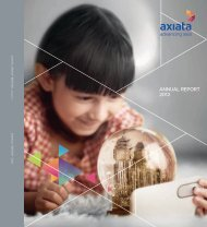 Annual Report 2012, PDF - Axiata Group Berhad - Investor Relations