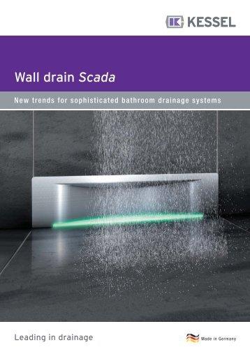 Wall drain Scada - KESSEL