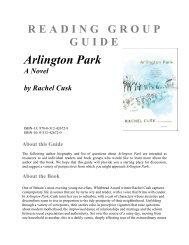 Reading Group Guides - Macmillan