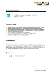 Grundlagen-Seminare Fluid Engineering Grundlagen ... - wscad