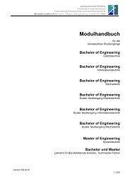 Bachelor of Engineering - Fachhochschule Koblenz