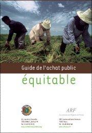 Guide de l'achat public - la Plate-Forme pour le Commerce Équitable