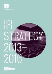 download ifi strategy - Irish Film Institute