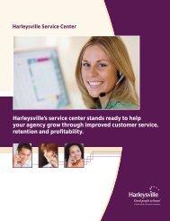 Service center overview - Harleysville Insurance