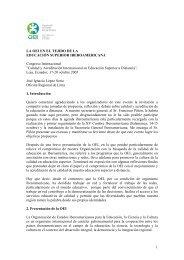 LA OEI EN EL TEJIDO DE LA EDUCACIÓN ... - Reposital - UNAM