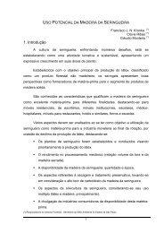 1. Introdução - Sociedade Brasileira de Silvicultura