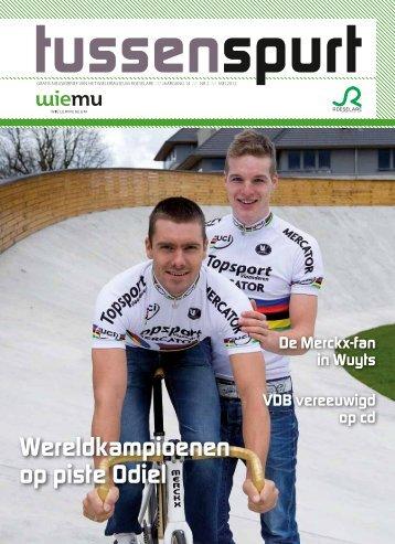 Wereldkampioenen op piste Odiel - Wielersportboeken