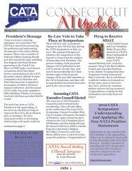 2012 Spring Newsletter - The Connecticut Athletic Trainers ...
