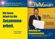 DW Magazin 2 - Volkspartei Deutsch-Wagram