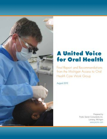 A United Voice for Oral Health - Great Start for Kids