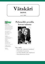 Vätskäri news Pehmeillä arvoilla kovaa tulosta - Varsinais-Suomen ...