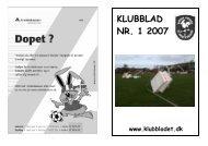 Klubbladet 2007 nr1 - Vammen