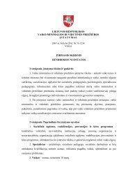 Minimalios ir vidutinės priežiūros įstatymas