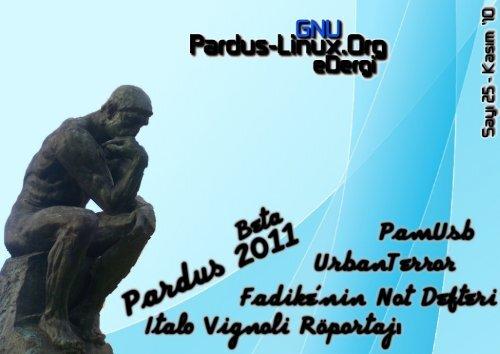 Pardus-Linux.Org eDergi   Sayı 25   Kasım '10 - Tilkinin Dilinden