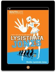 iGuide: Lysistrata Jones - Southgate Productions