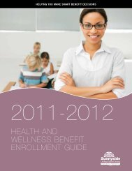 HealtH and Wellness Benefit enROllMent Guide - Sunnyside Unified ...