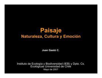 presentación en pdf - Instituto de Ecología y Biodiversidad - Chile