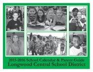 2015-16 School District Calendar