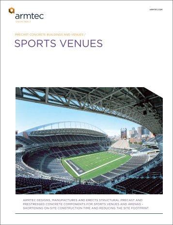 Sports Venues Brochure - Armtec