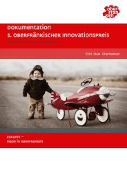 Dokumentation - Innovationspreis Oberfranken 2011