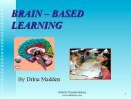 BRAIN – BASED LEARNING - NDC Brain.com