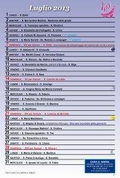 calendario 2013 - casasantamaria.it