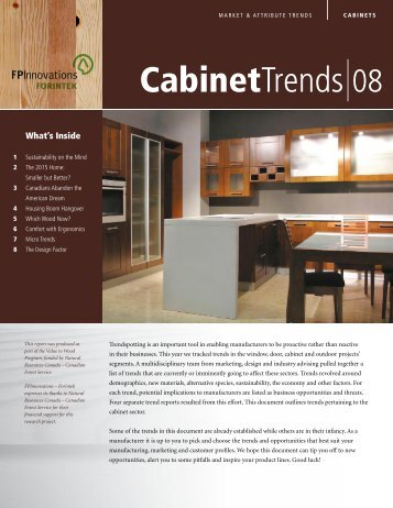 Cabinet Trends