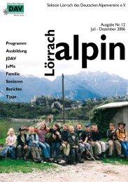 Lörrach alpin 12 - DAV Sektion Lörrach