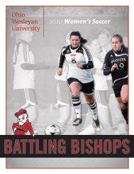 2010 guide - Ohio Wesleyan University