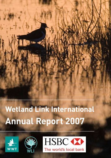 WLI Annual Report 2007 - Wetland Link International
