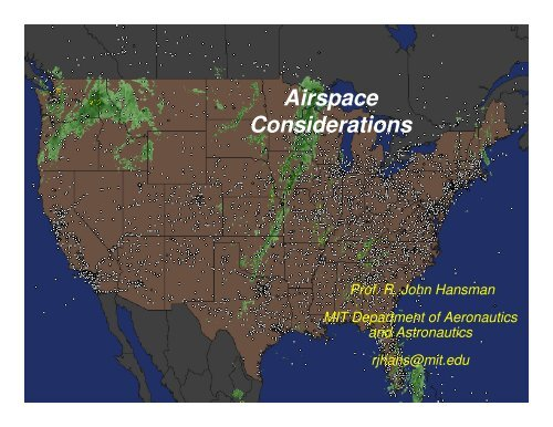Airspace Considerations