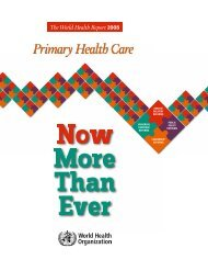 Primary health care: now more than ever - World Health Organization