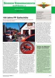 150 Jahre FF Gallschütz - Feuerwehr