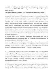 L'Ortogeriatria - Unità Operativa di Geriatria