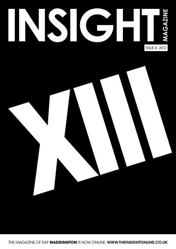 IssuE 6, 2012 - The Insight Online