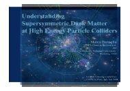 Understanding Dark Matter at Future Particle Colliders