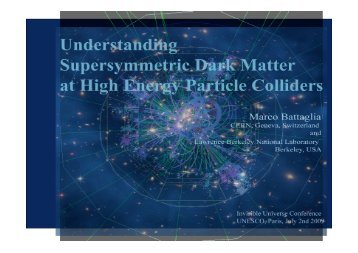 dark matter a basic understanding Join the exciting search for these mysterious phenomena in dark matter, dark energy: the dark understanding of the dark basic constituents: ordinary matter.