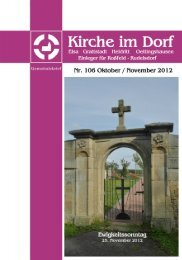 Oktober - November 2012 - Kirchspiel Elsa