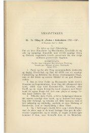 """To Tillæg til """"Pesten i København 1711—12 - Hovedbiblioteket.info"""