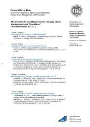 Briefbogen Institute mit Logo mit Abteilung 1zeilig - Seminar für ...