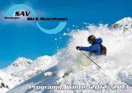 Ihr Vorteil - SAV Snowsports - Reutlingen