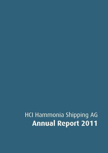 Annual Report 2011 - hci hammonia shipping ag
