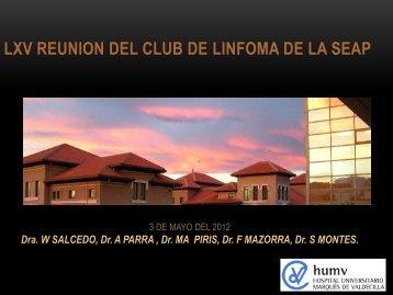 LXV REUNION DEL CLUB DE LINFOMA DE LA SEAP