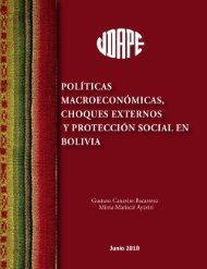 políticas macroeconómicas, choques externos y protección social ...