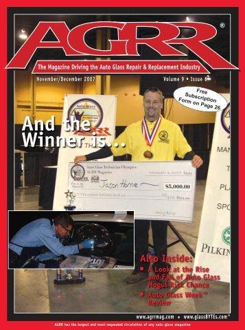 AGRR - November/December 2007 - AGRR Magazine