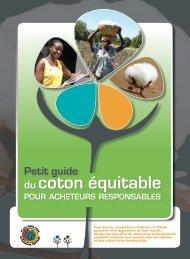 Petit guide du coton équitable pour acheteurs responsables