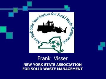 Solid Waste Mgmt 2 - New York State Association of Counties