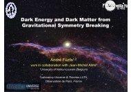 Dark Energy and Dark Matter from Gravitational Symmetry Breaking