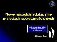 Postępowanie badawcze - Rozwój e-edukacji w ekonomicznym ...